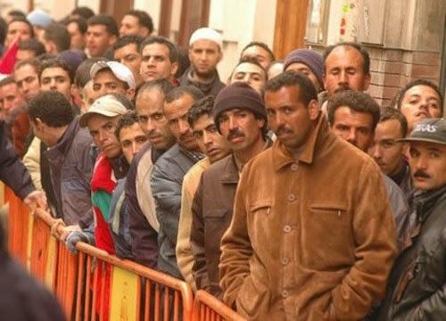 Croissance de l'emploi en 2015 pour le Maroc