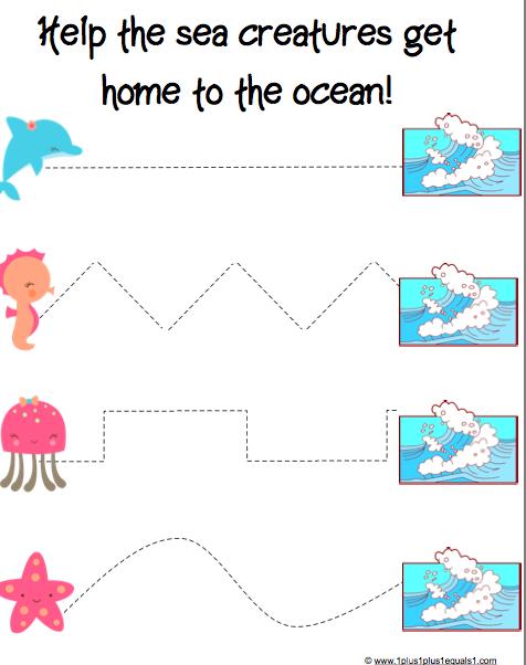 Ocean Theme Preschool - Lessons - Tes Teach
