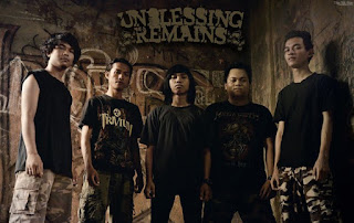Unblessing Remains Band Metalcore Samarinda Kalimantan Timur Foto Logo Artwork Cover Wallpaper