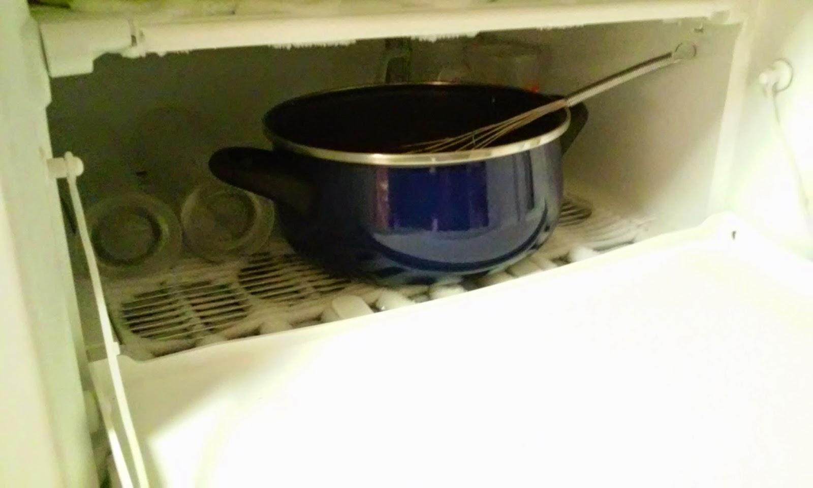 ponemos en el congelador