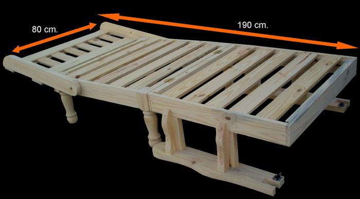 Pichon muebles for Futon 1 plaza precio