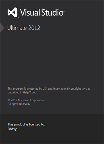 Visual Studio 2012 Ultimate Edition Full Serial