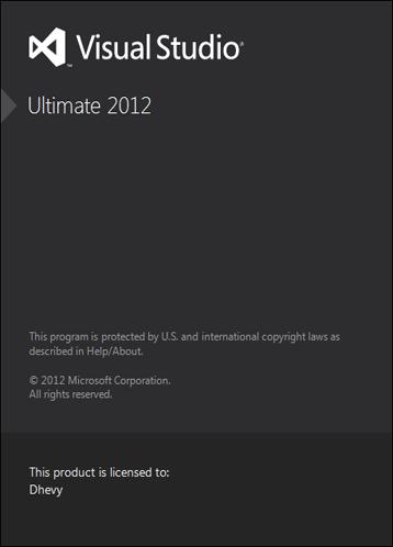 Visual Studio 2012 Ultimate Edition Full Serial 5