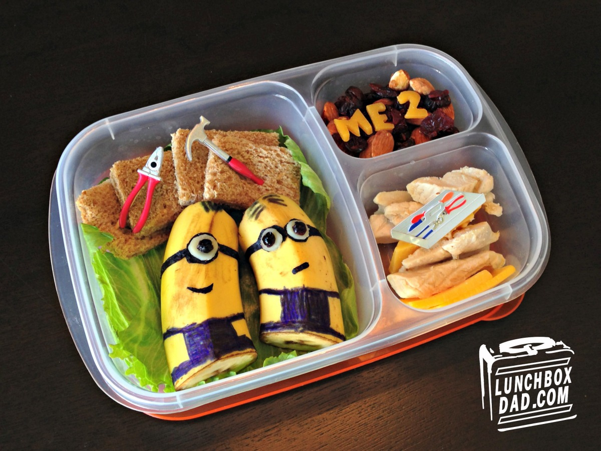 Despicable Me 2 Minion Lunch