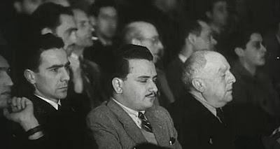 Espectadores en el II Encuentro Ibérico de Ajedrez 1946