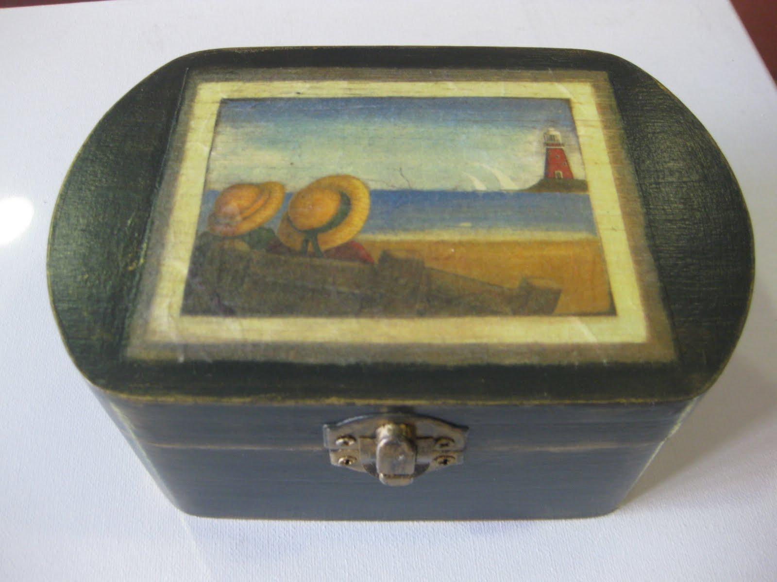 Arte y manualidades tellez caja de madera - Cajas de madera manualidades ...