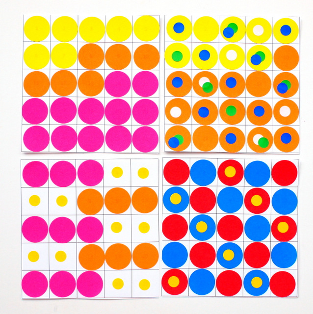 Fun Kids Math and Art Activity- Help your child practice their math skills while making beautiful works of art!