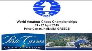 Grecia: WORLD AMATEUR CHESS CHAMPIONSHIPS (Dar clic a la imagen)