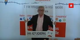 20J Manifestación en apoyo a los refugiados