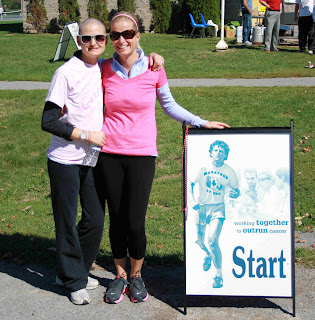 breast cancer blog; best friends support; terry fox; renfrew