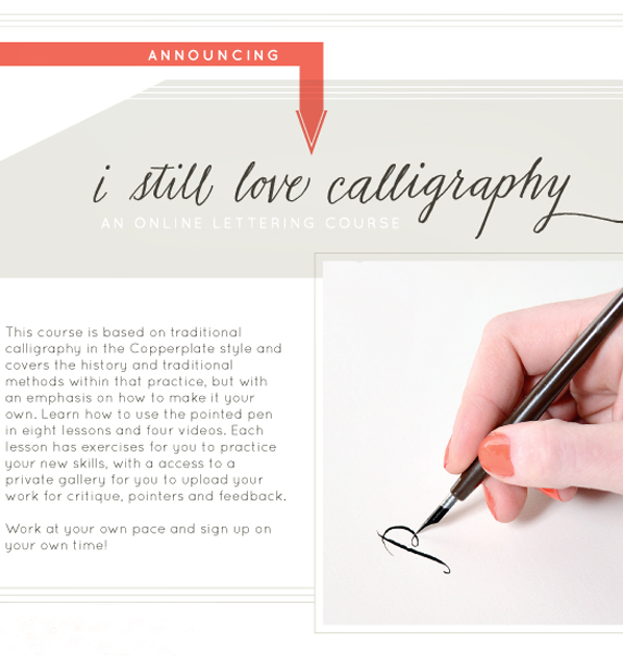 Online Modern Calligraphy Class By Melissa Esplin Besotted