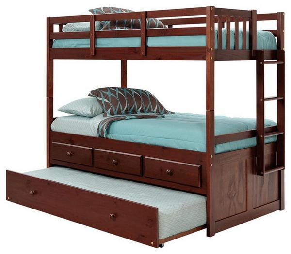 Chú ý các gia đình cần nắm rõ khi cho bé nằm giường tầng gỗ