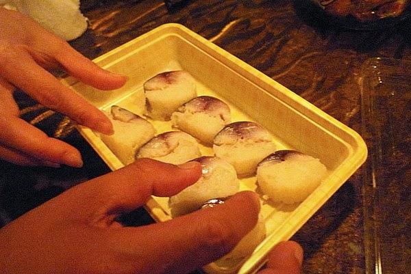 四条大宮 スピナーズ サバ寿司 おすそ分け