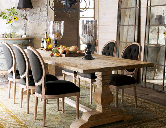 The quiet nest dining room inspiration for Farmhouse style dining set