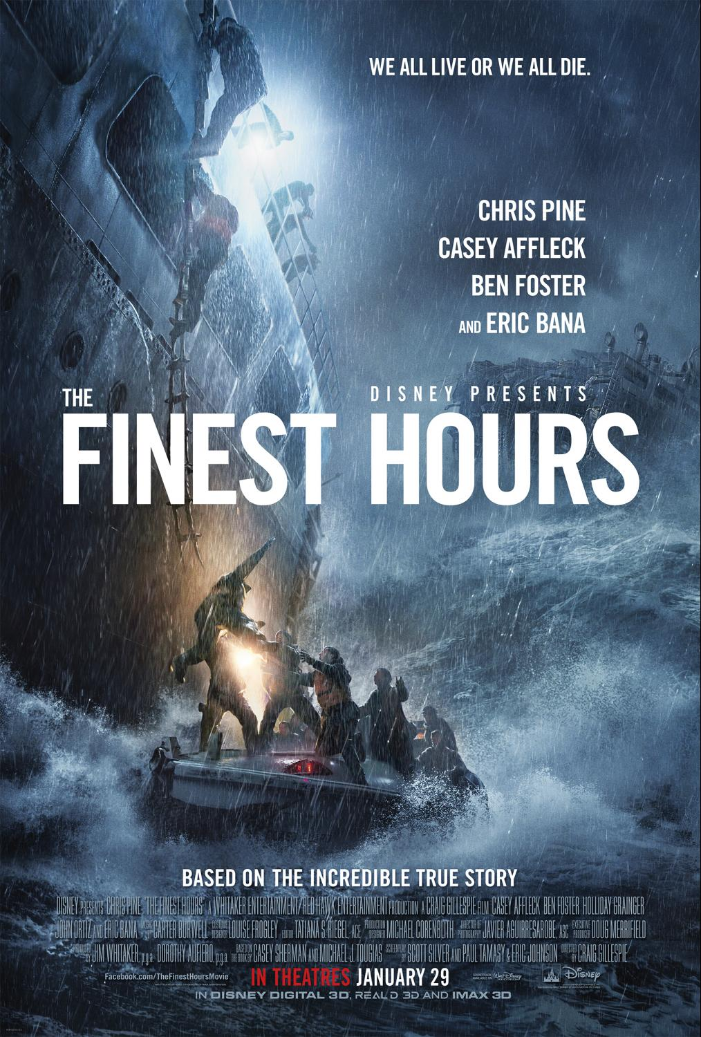 La hora decisiva (The Finest Hours) Horas contadas ()
