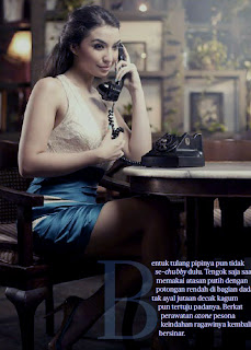 hot Manohara for Male Magazine, November 2012 (Part 2)