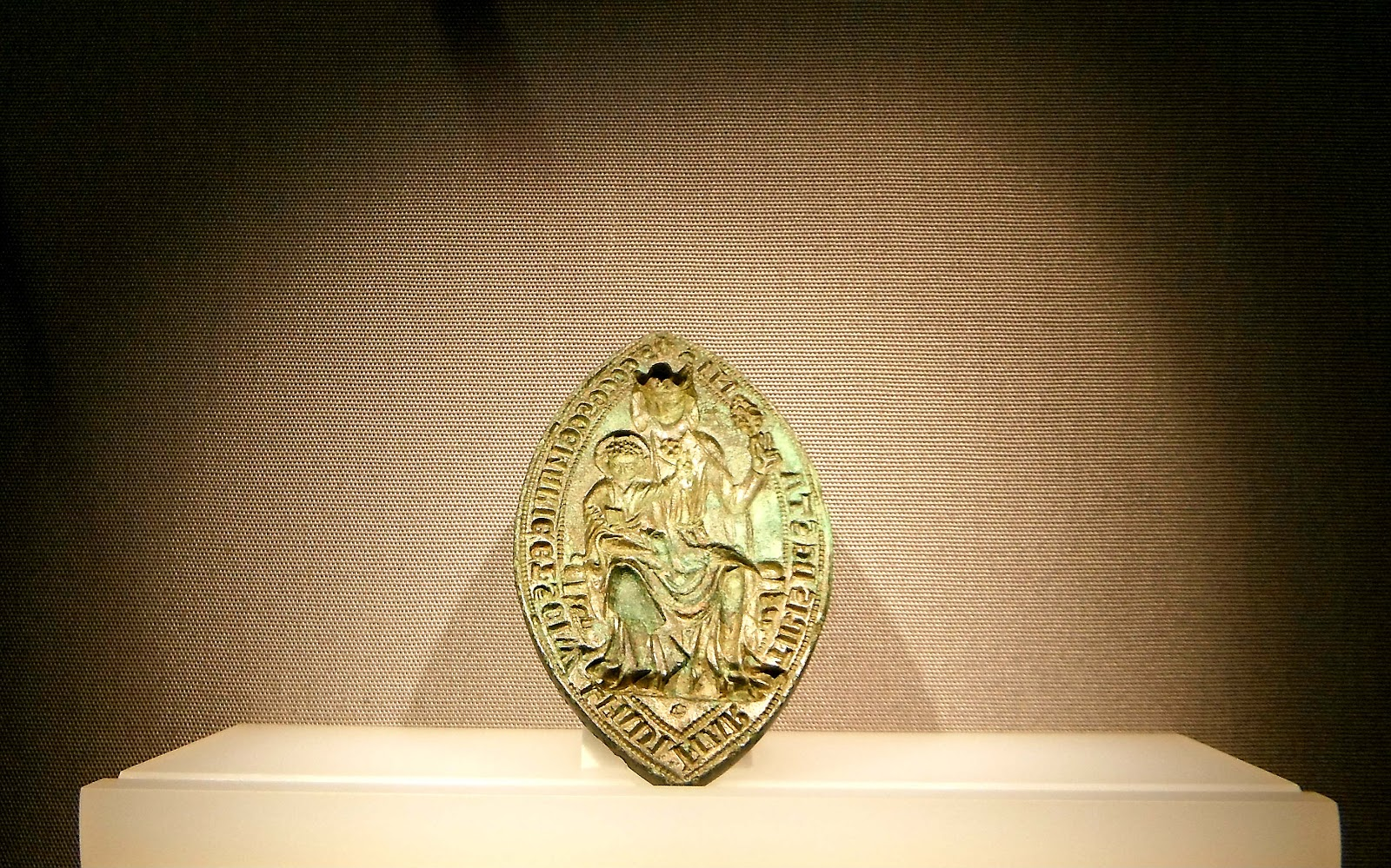 The medieval seal of Stone Priory