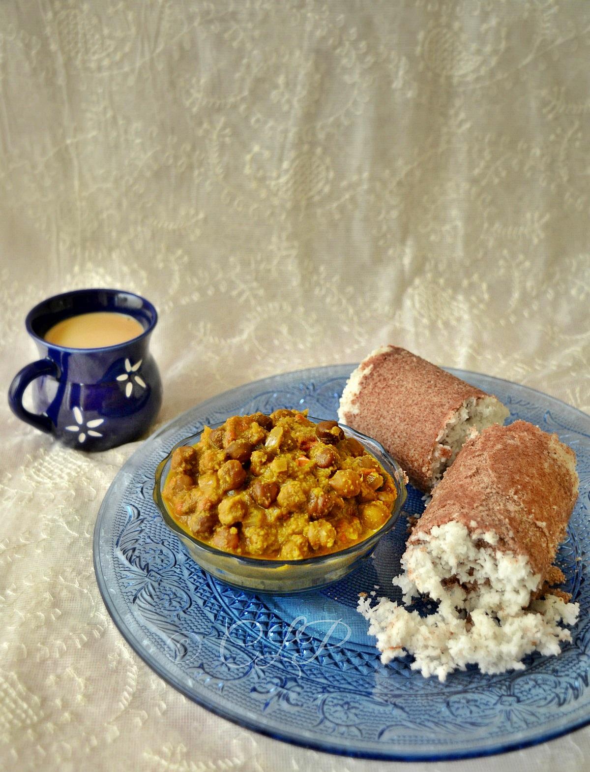 Ragi Puttu Kerala Recipe