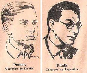Arturito Pomar y Herman Pilnik