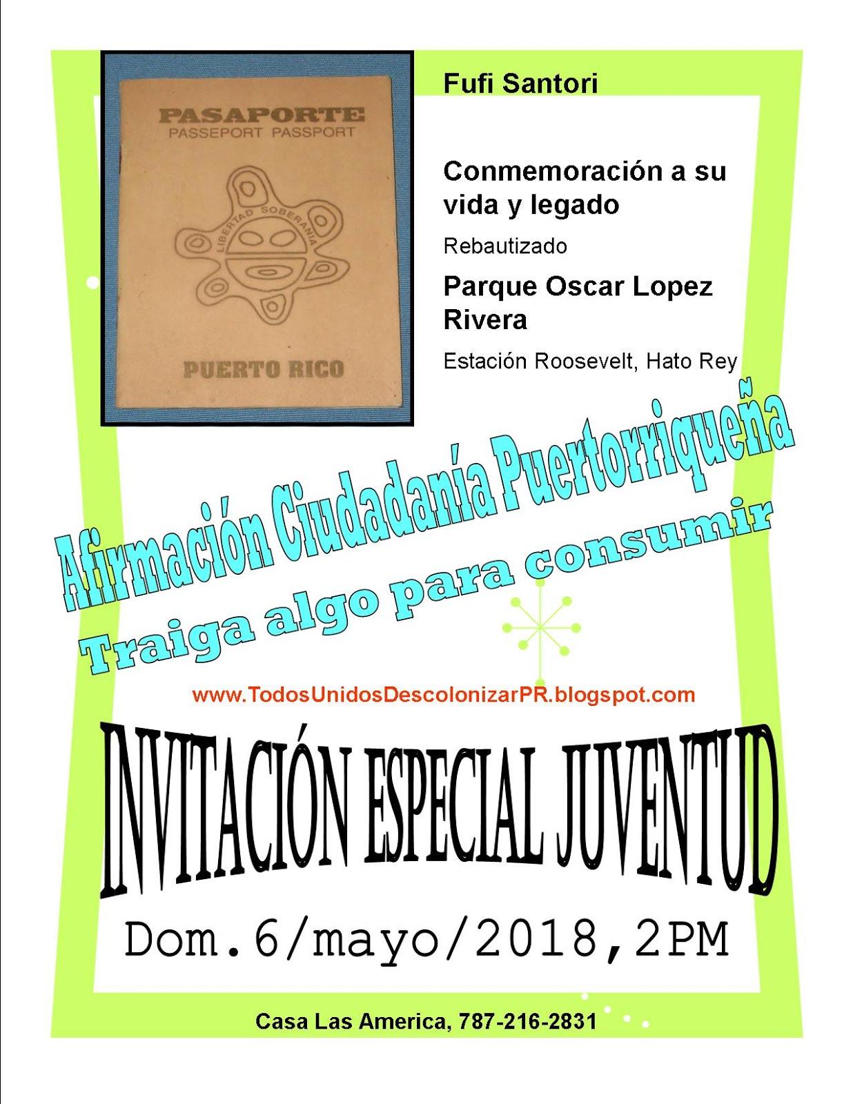 Celebración Ciudadanía Puertorriqueña