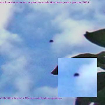 *UFO SONDA MAS FOTOS*