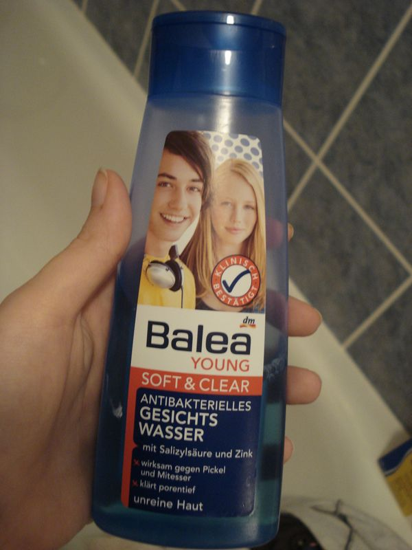 Balea Soft & Clear Gesichtswasser