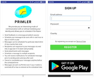 Communication App of the Week - Primler - Private Messaging Scheduler