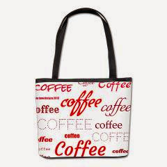 Magic Coffee Fonts Bucket Bag
