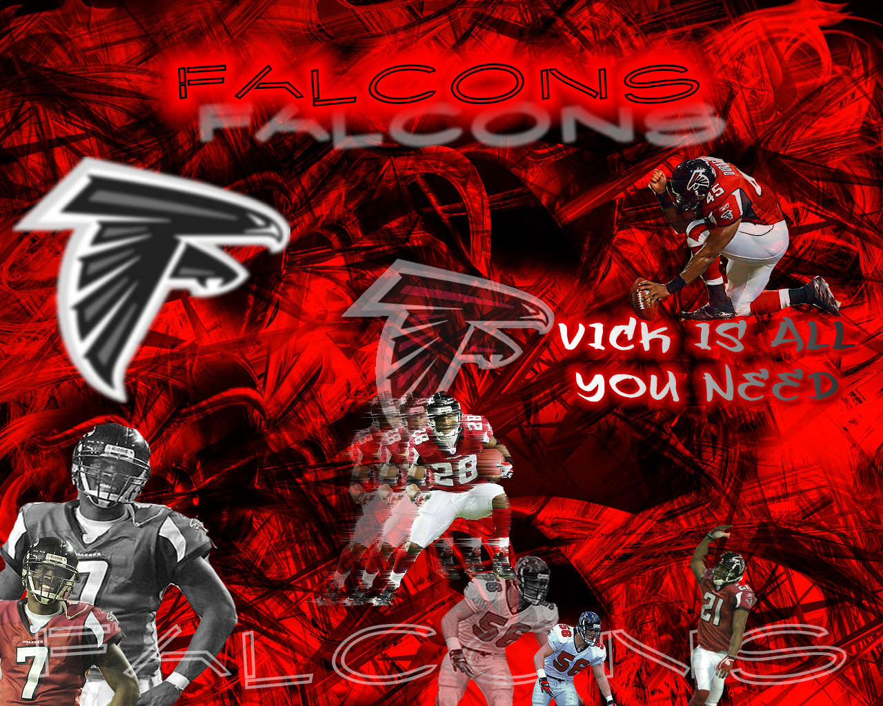 falcons rise up wallpaper
