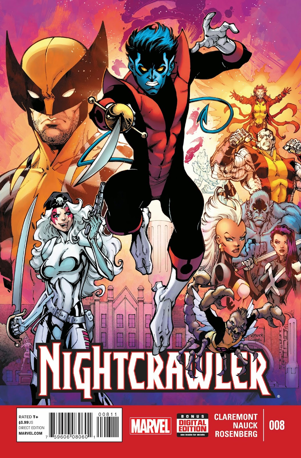 Nightcrawlers adventures restart in issue 8