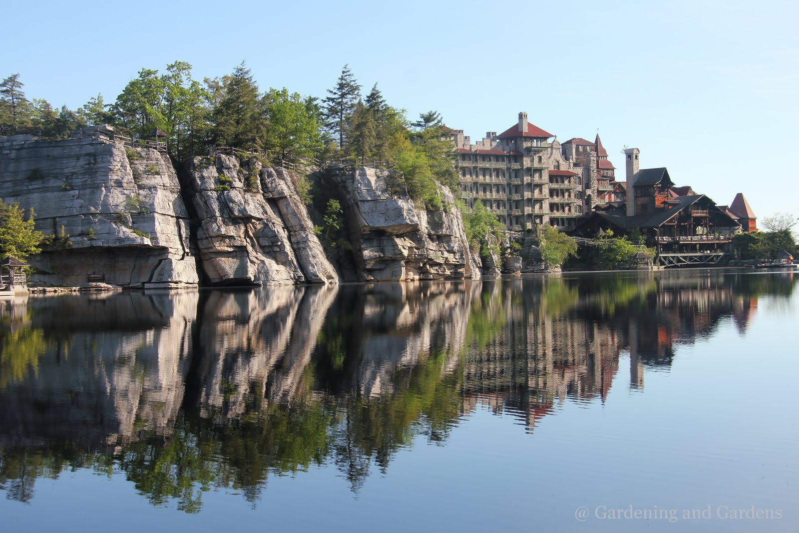 Gardening and gardens mohonk mountain house part 1 for House mountain