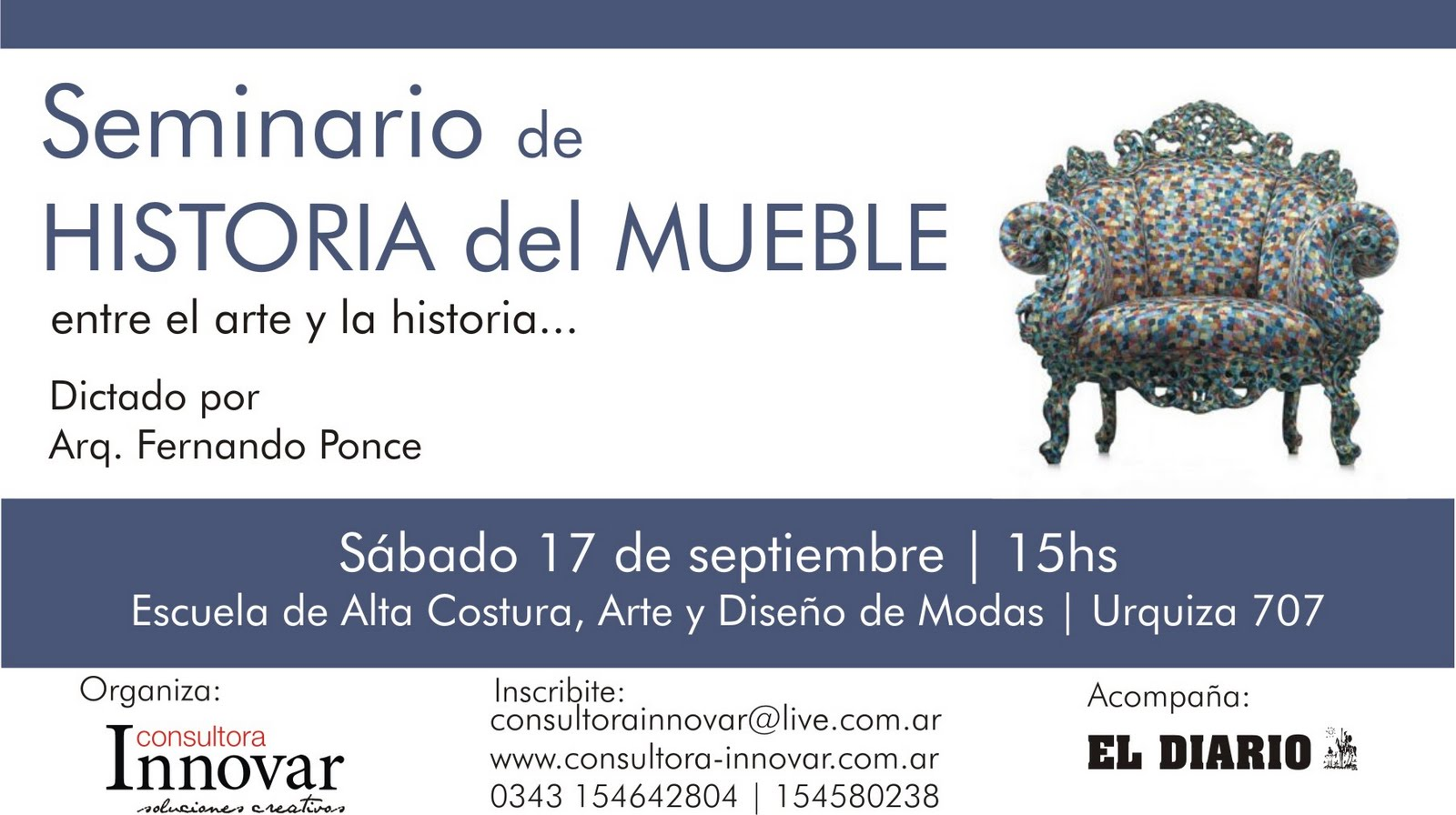 Eventos famosos rese as for Historia del mueble