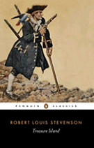 Treasure Island by Robert Louis Stevenson book cover