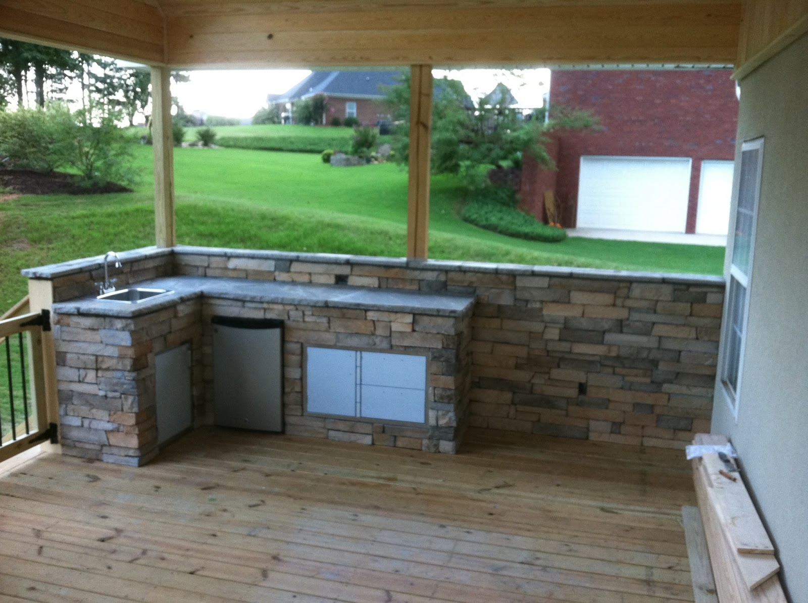 pippin stucco outdoor kitchens