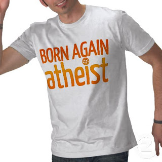Born again atheist tee-shirt