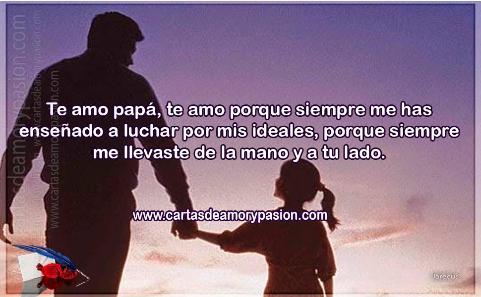 Estoy Triste Por Tu Partida Te Amo Papá Cartas De Amor Para Papá