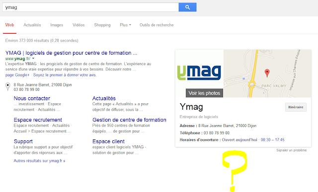 requetes locales n'affichent plus le post google plus dans le google graph