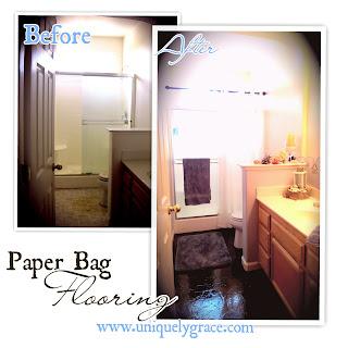 paper bag floor instructions