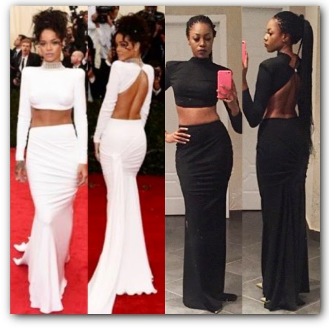 Who Wore it Better Rihanna or Yvonne Nelson