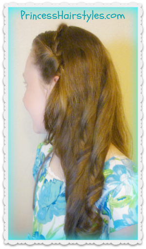Disney Cinderella hairstyle tutorial