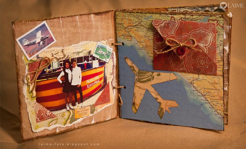 Альбом путешествий своими руками скрапбукинг 84