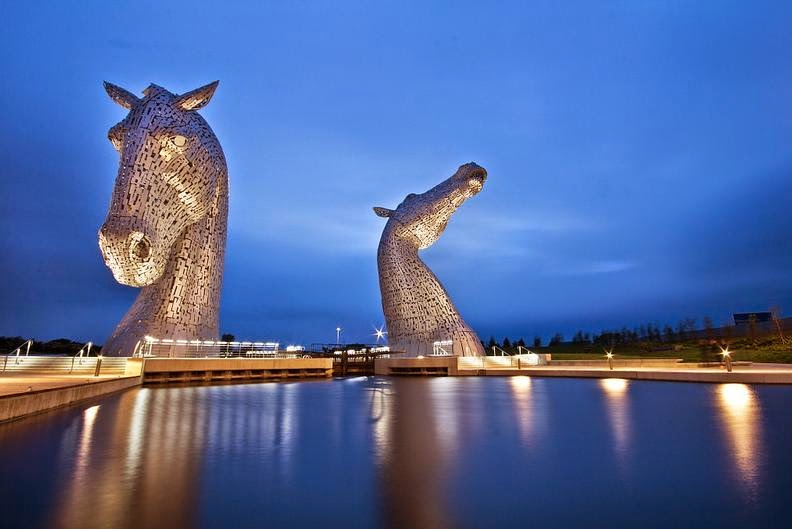 The Kelpies, Andy Scott, Escocia
