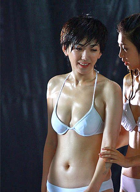 Wet girl underwear