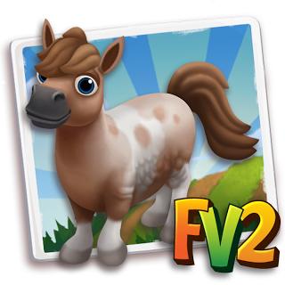 Pintaloosa mini horse baby adult prized farmville 2 for Farmville horse