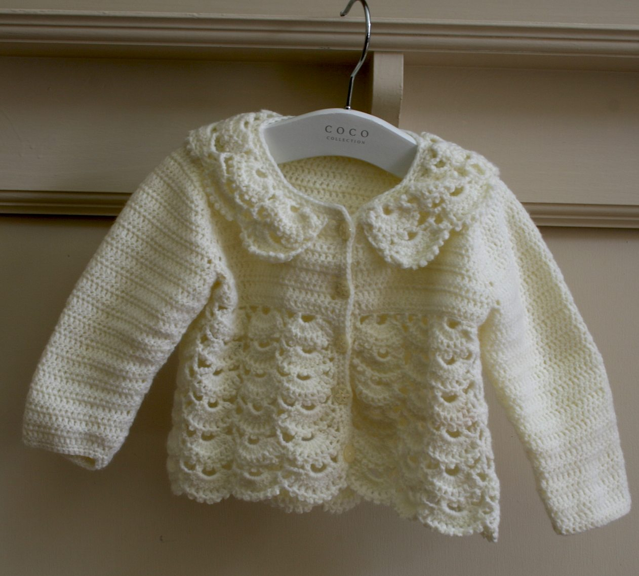 Crochet Pattern Baby Girl Cardigan : August 2013 - Zurbahan Blog