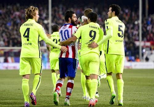 Barca toàn thắng trước Atletico
