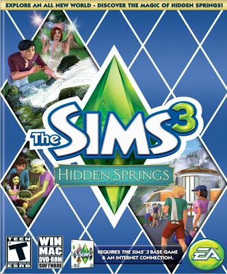 Sims 3 Hidden Springs DLC-PC