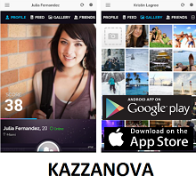 Social App of the Week - KAZZANOVA