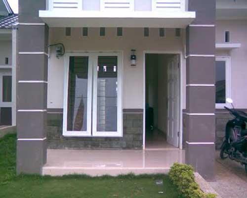 rumah minimalis desain teras rumah minimalis