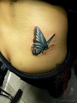 butterfly tattoos for girls all about. Black Bedroom Furniture Sets. Home Design Ideas